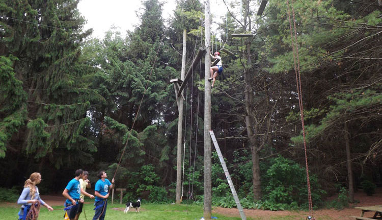 High Ropes and Challenge Course